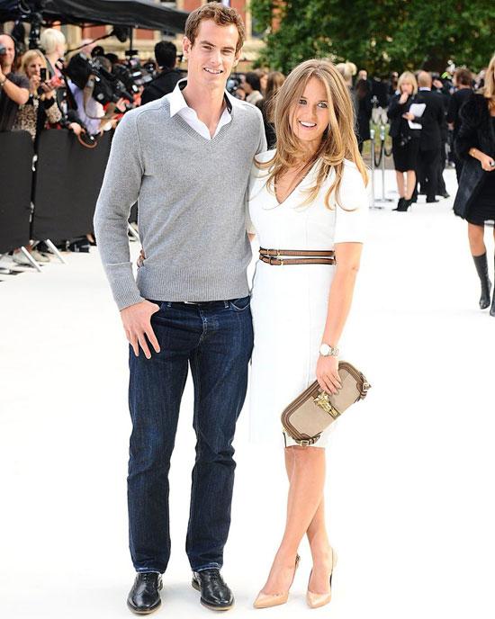 Murray và Kim Sears sẽ tổ chức đám cưới vào tháng tới.