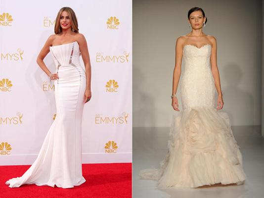 Dự đoán váy cưới của sao thế giới năm 2015