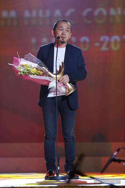 Bảng 'Chương trình của năm' gồm các đề cử liveshow Mỹ Tâm, liveshow Hồ Ngọc Hà, đêm nhạc 'Gió mùa', Trần Mạnh Tuấn và dàn nhạc giao hưởng. Đoạt giải là chương trình 'Gió mùa' của nhạc sĩ Quốc Trung.