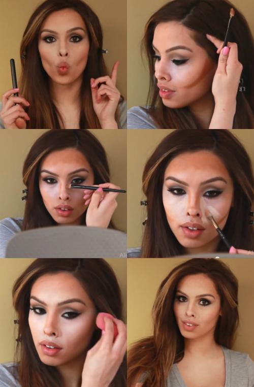 Học cách tạo khối mặt miễn chê của Kim Kardashian