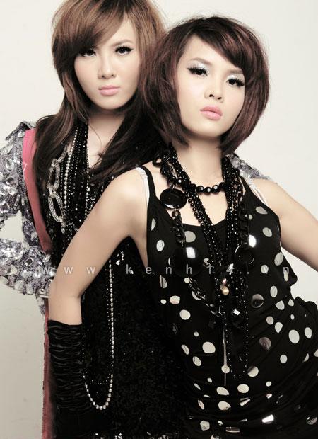 Chị em Yến Trang, Yến Nhi - những cô gái sexy của showbiz Việt.