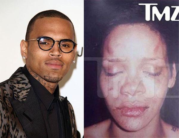 Người hâm mộ khó có thể quên Người hâm mộ làm sao quên được vụ bạo hành chấn động toàn thế giới của đôi tình nhân Rihanna và Chris Brown.