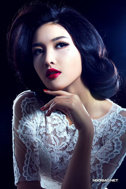 Triệu Thị Hà gợi ý make up cô dâu phong cách cổ điển