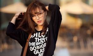 Sao Việt trẻ như nữ sinh với mốt tóc mái thưa