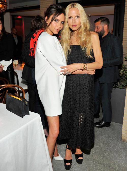 Vic thân thiết bên stylist nổi tiếng Hollywood, Rachel Zoe