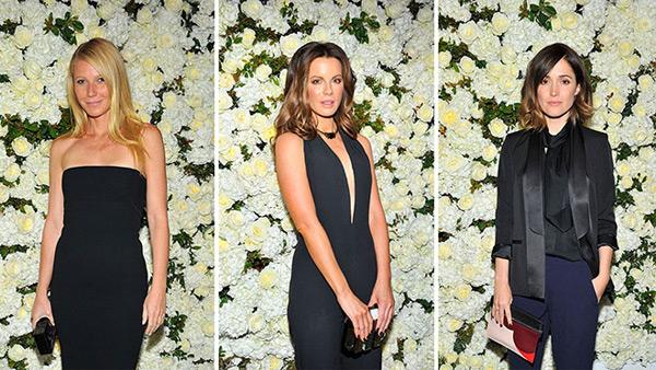 Bữa tiệc còn có sự góp mặt của một số diễn viên nổi tiếng như  Gwyneth Paltrow, Kate Beckinsale và