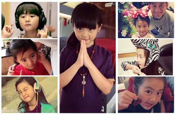 17 nhóc tì siêu đáng yêu của làng giải trí Hoa ngữ