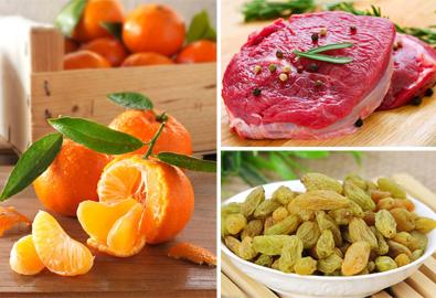 9 thực phẩm bổ máu cực tốt cho phụ nữ