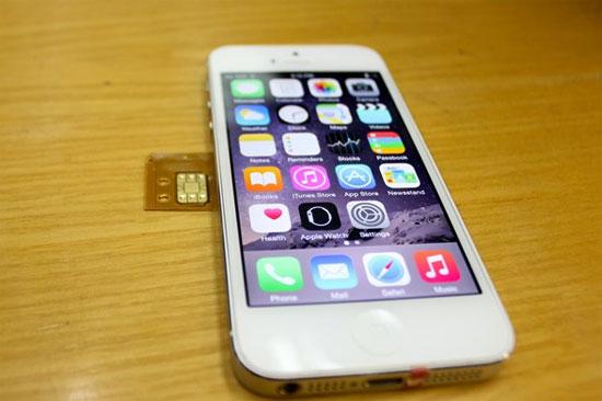 iPhone 5 và 5S lock 'tạo sóng' khi vừa về Việt Nam