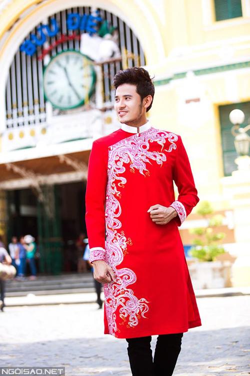 5 màu sắc áo dài cưới sang trọng cho chú rể