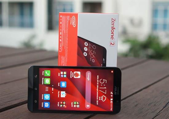 Zenfone 2 chính hãng giá từ 4,6 triệu lên kệ trong tháng 5