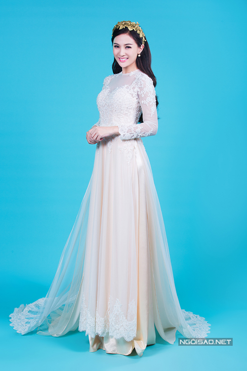 Tư vấn chọn hai màu sắc áo dài cưới cho cô dâu