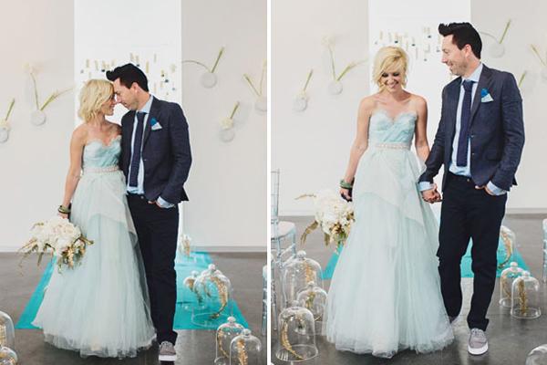 Lễ phục cưới hiện đại