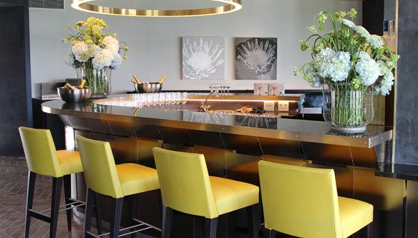 Khách sạn Bốn mùa ở Johannesburg, Nam Phi có thiết kế tinh tế và tươi mới.