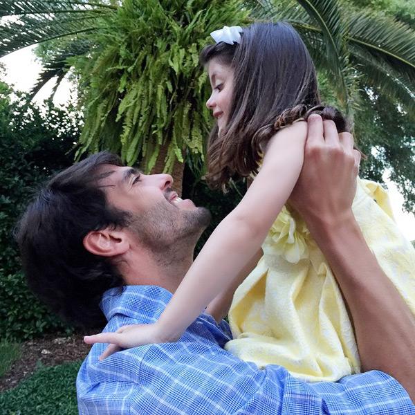 Kaka và con gái cưng Isabella có ngày sinh nhật gần nhau.