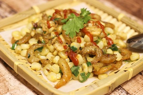 Món ăn được chế biến nhanh gọn, thích hợp cho bữa cơm chiều khi mà bà nội trợ không có nhiều thời gian.