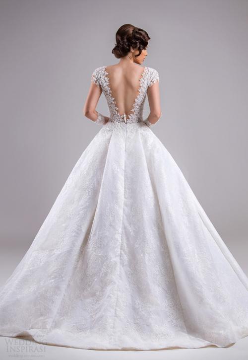 Váy cưới xòe bồng tuyệt đẹp giống nàng Lọ Lem