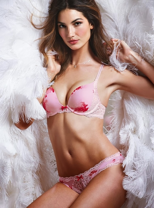Lily-Aldridge-for-Victorias-Secret-Linge