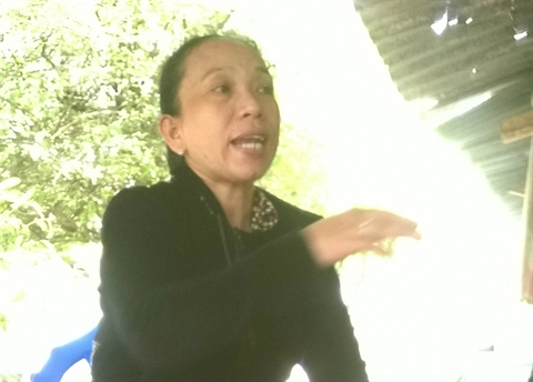 Bà Vân nhớ lại lúc gặp Thạch Pho đột nhập vào nhà mình.