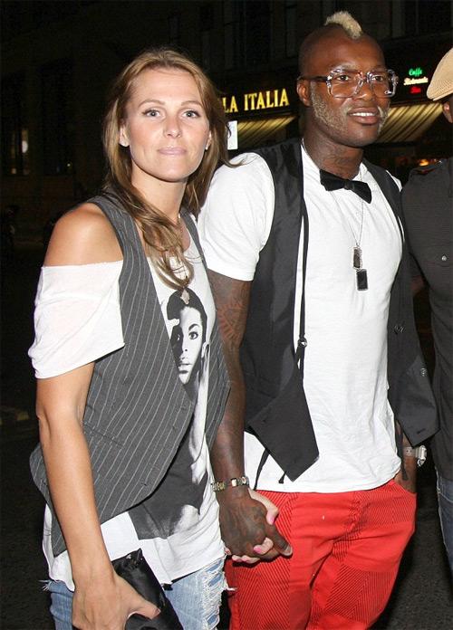 Cisse và vợ cũ Jude từng là cặp đôi luôn gây chú ý vì phong cách thời trang lập dị.