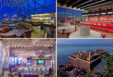 Những quán bar đẳng cấp của các khách sạn sang