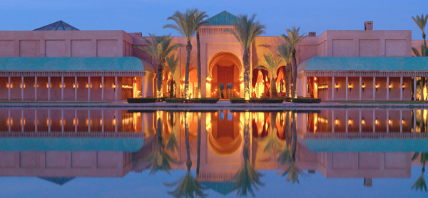 Amanjena resort nằm ở thành phố cổ Marrakech luôn là một trong những điểm đến được các ngôi sao trên thế giới lựa chọn.