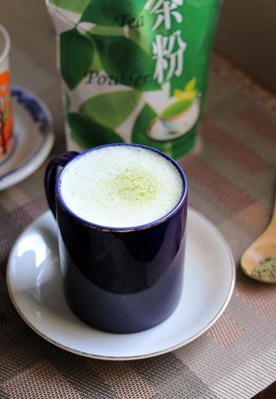 Với 3 bước đơn giản là bạn đã cốc sữa trà xanh thơm ngào ngạt để nhâm nhi rồi.