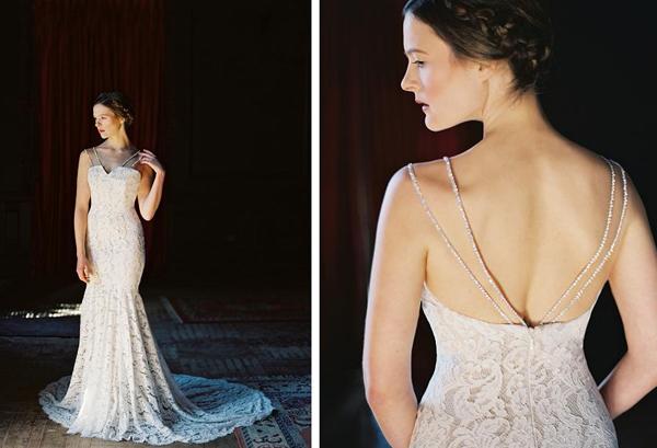 Váy cưới Sareh Nouri gây sốc với màu đen