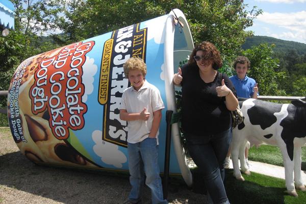 Thương hiệu kem Ben & Jelly có mặt khắp các siêu thị lớn nhỏ ở Mỹ và là loại kem được khách du lịch khá ưa chuộng.