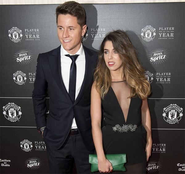 Ander Herrera và bạn gái