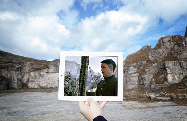 Dãy núi Larrybane Quarry, Bắc Ireland.