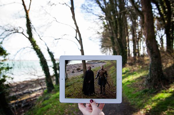 Khuôn viên Lâu đài Ward, Bắc Ireland.
