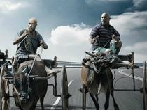 Sao 'Fast & Furious 7' bị fan chế ảnh cưỡi xe bò