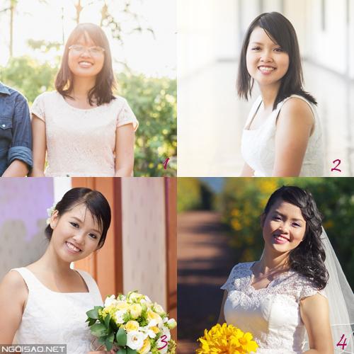 Cô dâu chia sẻ: Chọn makeup cưới để không là `thảm họa`