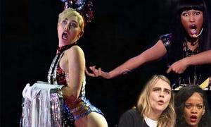 Ảnh chế 'khó đỡ' của Miley Cyrus trên Instagram