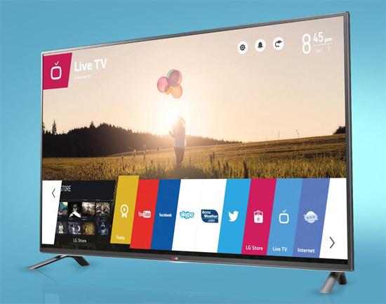 SmartTV của LG được 'lắp thêm' thẻ CAM truyền hình