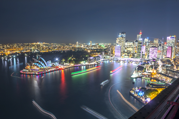 Sydney sáng bừng suốt 5 đêm lễ hội Vivid