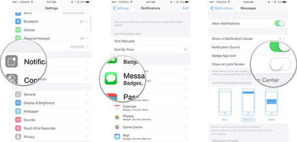 Cách khắc phục iPhone bị treo khi nhận tin nhắn lạ