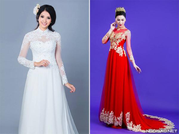 Cách tiết kiệm khi chọn áo dài ăn hỏi, váy cưới