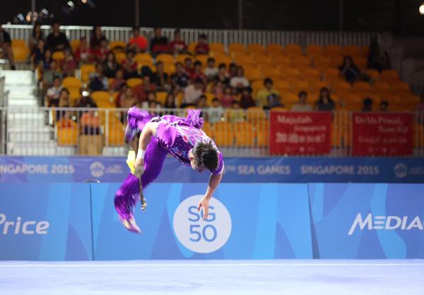 Xuân Hiệp rất vui sau khi đoạt HC vàng vì tại SEA Games 27 ở Myanmar anh chỉ giành được HC đồng.
