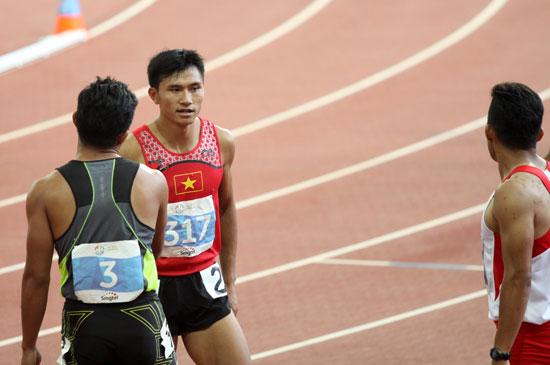 Lê Trọng Hinh bất lực vì 'Usain Bolt Phillippines'