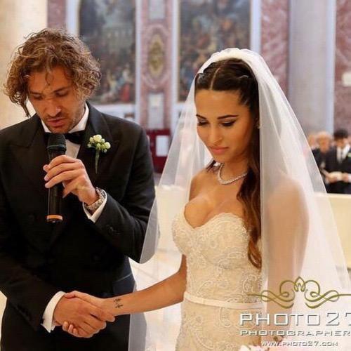 Ngày 4/6, tiền vệ Alessio Cerci của Milan và hôn thê xinh đẹp