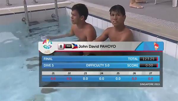 Sự cố gây cười nhất tại SEA Games 28 là về hai VĐV nhảy cầu người Philippines