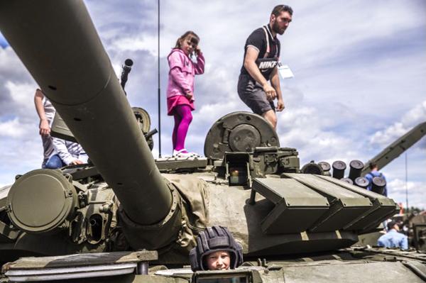 Công viên quân sự gây choáng ngợp của Nga