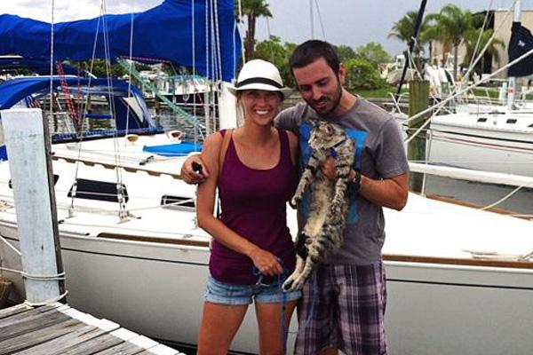 Vợ chồng bỏ việc, bán hết tài sản để du hí với mèo