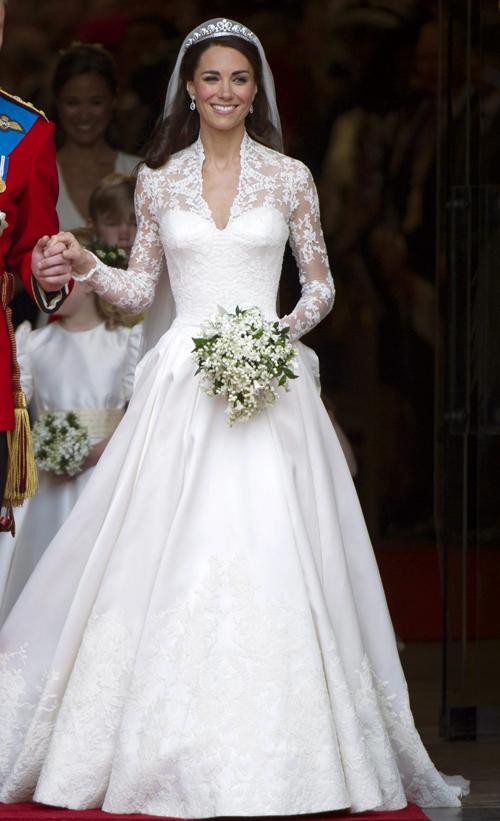 5 'biểu tượng váy cưới' của cô dâu hoàng gia châu Âu