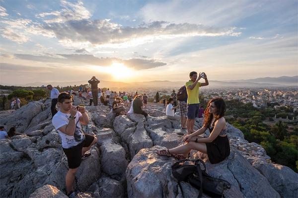 Du lịch Hy Lạp những ngày khủng hoảng kinh tế