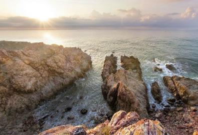 Một mình giữa trời biển nơi Mũi Yến - Bình Thuận