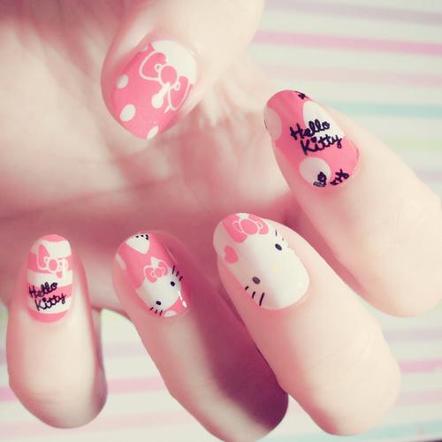 Những màu móng đẹp chỉ dành cho các cô nàng yêu mèo 2