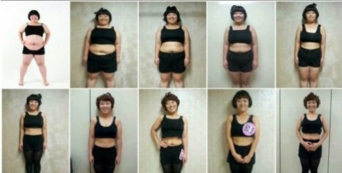 Bí quyết giảm 52 kg nhờ detox bằng rau củ quả của nữ diễn viên hài kịch Kwon Mi Jin